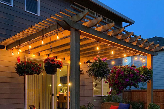 Patio Roofs by Losli Fence & Deck